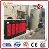 Low temperature plasma flue gas desulfurization treatment