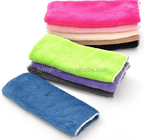 promotional factory price plain 100% organic cotton kitchen hand towel
