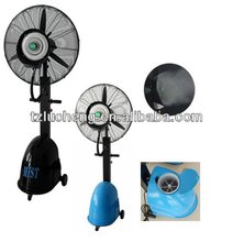 "26"" outdoor mist fan with remote control"