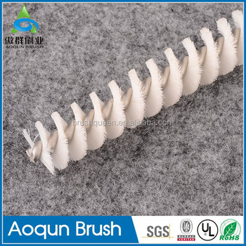 White nylon tube brushes