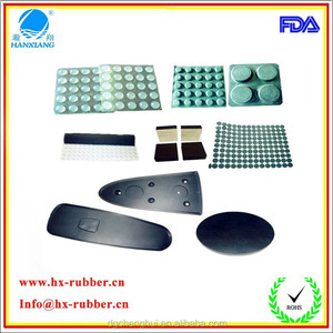 Adhesive Backed Silicon Rubber Foot/Adhesive EPDM Rubber Dots
