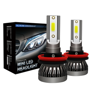 M1 H4 H7 H11 car led fog headlight bulb H1 H4 H7 H8 H9 H10 H11 9005 9006 5202 8000lm 6000k 12V LED headlamp cob bulb lamp