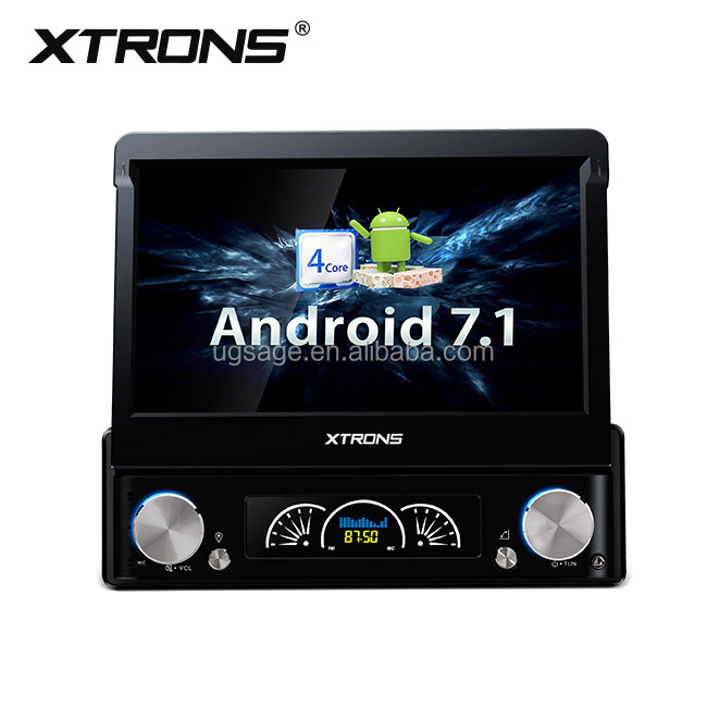 Xtrons 7 polegada android 7.1 universal 1 din android carro dvd vcd cd mp3 mp4 player com / obd2 / wi-fi / dvr, autoradio cinesi 1 din