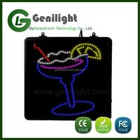 Plastic LED Business Sign Board LED Display panel
