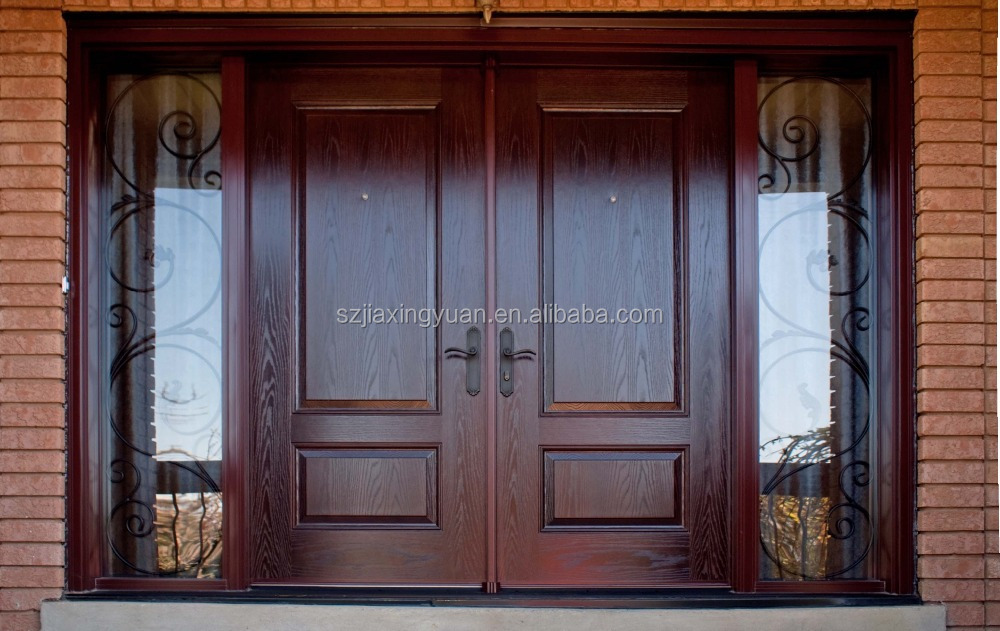 Door flat flush doorsolid wood doorinterior doorflat for Main door design for flat