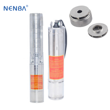 High pressure washer pumps electric drinking water submersible stainless steel pencil vertical pump