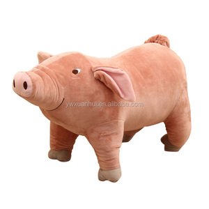 Free Samples Cute Plush Animal Toys Soft Pink Pig Wholesale Pink Pig Wholesale Soft Live Pigs