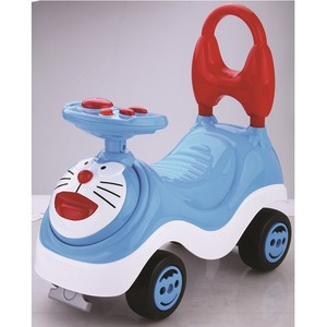 Hot Selling Doraemon Baby ride on car toy,slide car with music