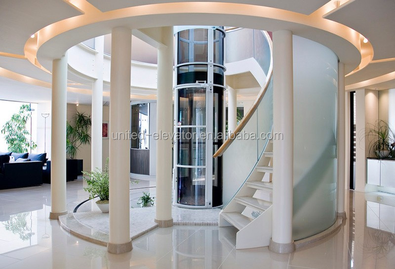Small glass residential home elevators for sale buy for Small elevator for home price