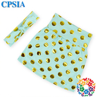 Wholesale Cute Girls Petti Skirts Aqua Young Girls Mini Skirt With Headband Cotton Tight Skirt For Kids