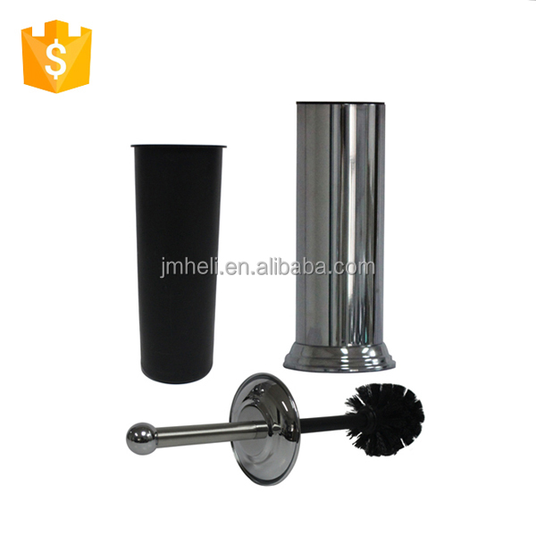 Mirror Finish Stainless Steel Decorative Toilet Plunger Holder With Perforated Holes Brush Toliet