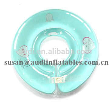 Inflatable Infant Swimming Neck Ring Safe Float Ring Baby Swim Bath Supplies Too