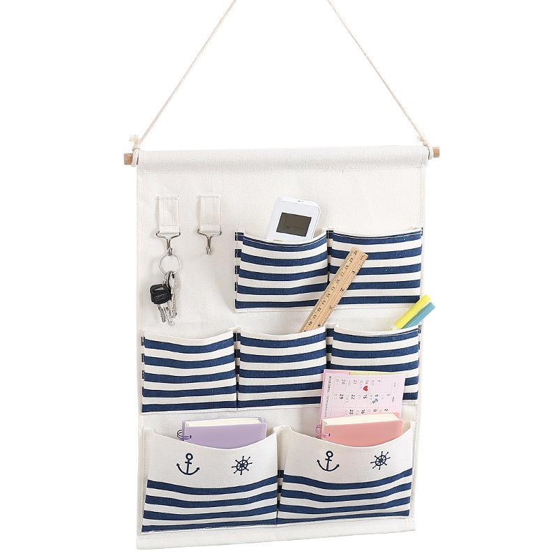 Imperméable à l'eau pliant chaussettes de téléphone sac de rangement suspendu