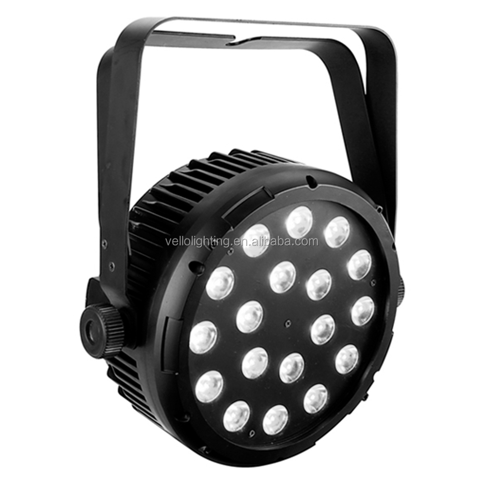 Vello indoor wash par can stage light (LED ElfPar 18 2in1)