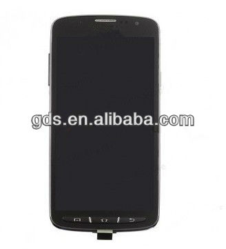 For samsung s4 active GT-i9295 lcd screen and digitizer assembly with frame