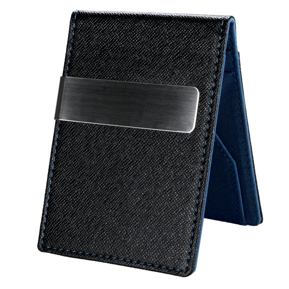 New Fashion Korean Style High Quality Men Mini Money <strong>Wallet</strong> With Clip