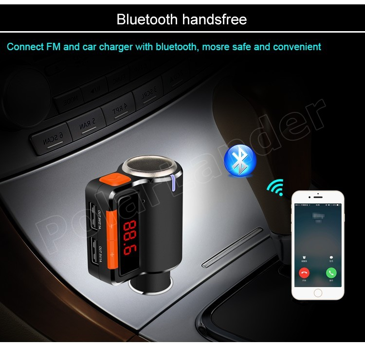 Cheap Car Audio Packages >> Wholesale Hot Sale MP3 Player Audio Slots Dual USB LED Screen Car Kit Wireless Bluetooth FM ...