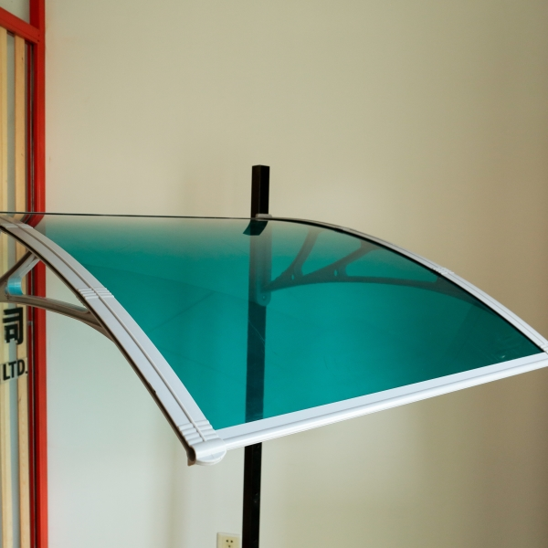 2014 great UV protection Polycarbonate Skylight door rain awning