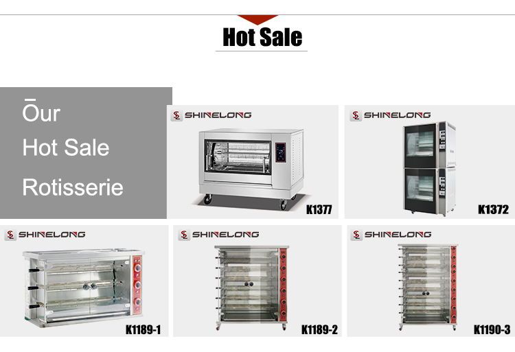 Good Price Commercial Chicken Rotisserie for Sale Automatic Rotating