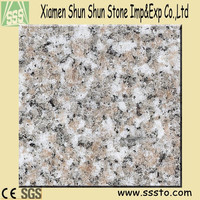 G636 ALMOND PINK cheap polished granite tile with high quality