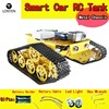 Lonten WiFi Video Robot Tank Car Chassis Remote Control by / APP RC Tank T300 from NodeMCU ESP8266 Kit Camera RC DIY Toy