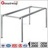 modern metal leg for wooden top dinning table
