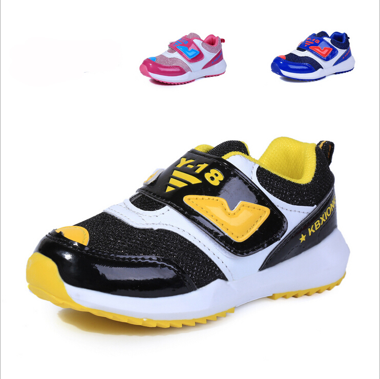 2015 New Autumn Children Shoes Breathable Sneakers Shoe for Kids Brand Girls Boys Sport Shoes Fashion Sneakers Size 27-31