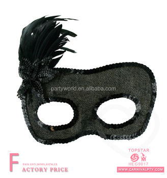 sequin feathered masquerade black mask adult lace halloween couples masquerade masks