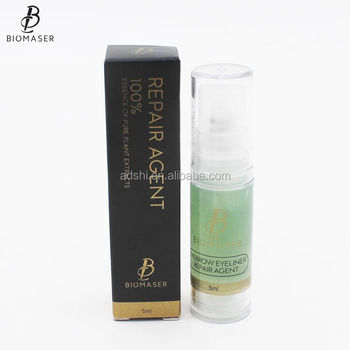Biomaser Permanent makeup aftercare agent for Eyebrow and Eyeliner, View  Permanent makeup aftercare agent, Biomaser Product Details from Adshi