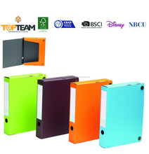 A4 PP Foam Plastic Box Files Folder, School Student Document A4 FC PP Box File Folder