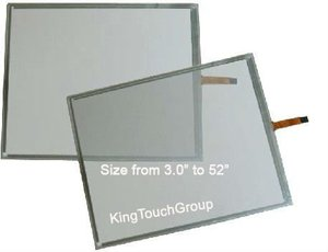 17 inch (16:10) 4 Wire Resistive Touch Screen Panel frame overlay bezel Kit