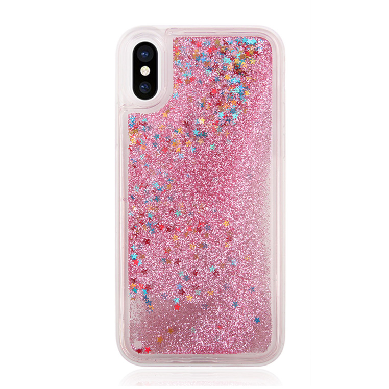 Newest Mobile Phone Shell For iPhone X Soft Back Cover Liquid Silicone Phone Case 2018