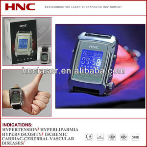 CLT Cold Laser Treatment to reduce high blood pressure wrist watch type CE & ROHS