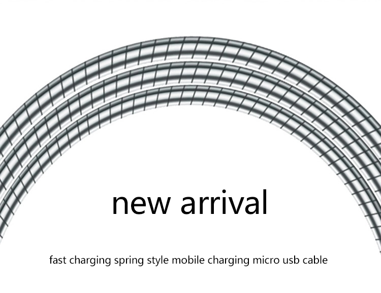 1m Fast Charging magnetic charger cable micro usb data cable Data Sync Mobile Phone Charger Cable