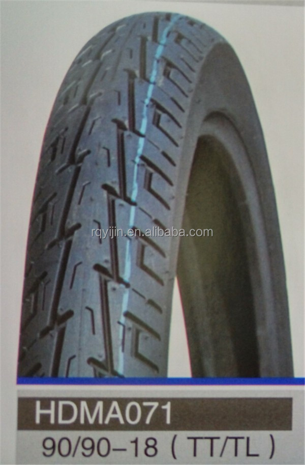 Original tubeless motorcycle tyre 90/90-18,motor tire in China