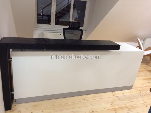 Blanco Moderno Diseño Personalizado Mesa Mostrador De Recepción ...