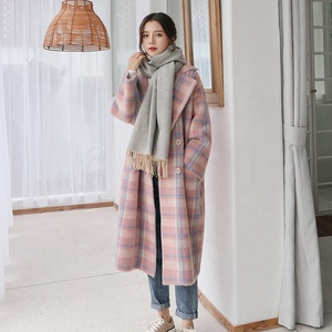 Fashion Imitation Mink Cashmere Long Coat Women Knitting Cardigans Sweater For Ladies Thicken Loose Winter Clothing Bf Full Open
