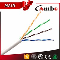 305 Meters UTP Cat5 Cable 24AWG Bare Copper CCTV Cable Cat5e Lan Cable for 1080P IP Camera