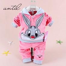 2016 children autumn clothes sets baby boys girls font b hoodies b font pants clothes fashion