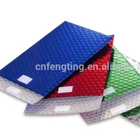 air bubble plastic packing bag for protective and aluminum foil air bubbles insulation and metallics foil bubbles mailers