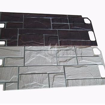 Good Price Non Toxic Wall Laminated Exterior Siding Vinyl Panel Textured Product On Alibaba