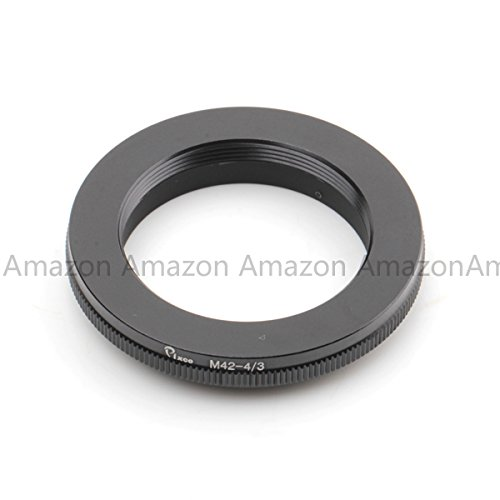 Pixco Pro Lens Mount Adapter Ring for M42 Mount Lens to Olympus Four Thirds OM4/3 (D)SLR Camera E-5 E-7 E420 E620 E520 E-410 E-510 E500 E3 E510 E-300