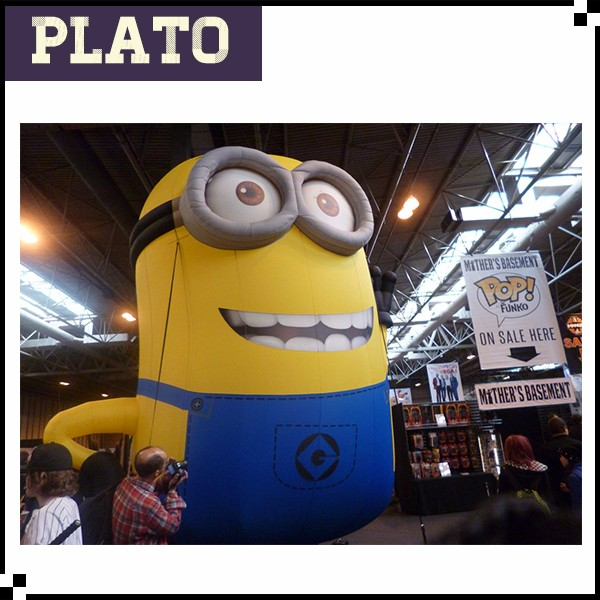 Massive Inflatable minion cartoon for party/cheap inflatable minion cartoon for decoration