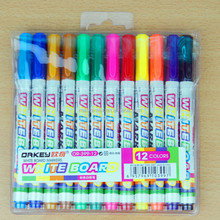 Orkey school stationery product, whiteboard marker pen,non-toxic middle white board pen office stationery set