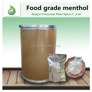 Manufacturers supply natural menthol food-grade menthol