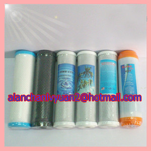 block carbon housing use/compressed carbon water filter