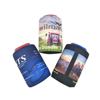 Neoprene beer can holder covers in cooler material