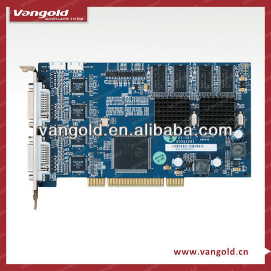 In stock hardware compression H.264 16 channel D1 DVR Card with low cost (DH-VEC1604LC)
