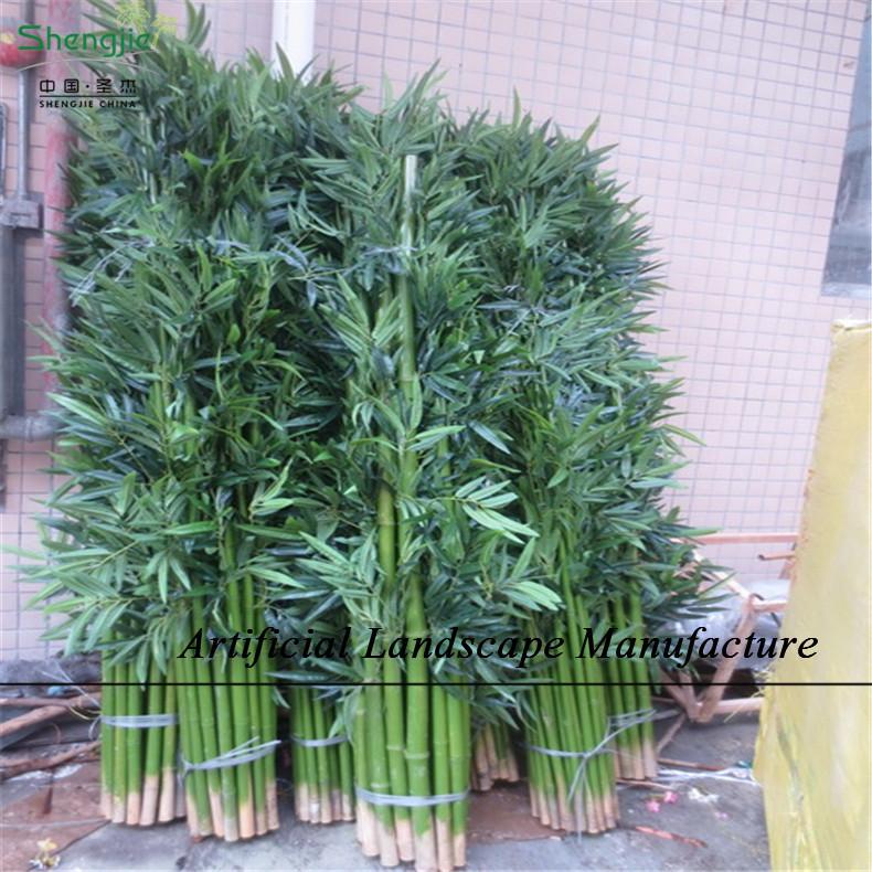 Sjnb17 pas cher en plastique bambou bambou artificielle plantes int rieure - Grande plante artificielle pas cher ...