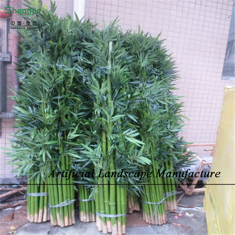 Sjnb17 pas cher en plastique bambou bambou artificielle for Plante artificielle exterieur pas cher